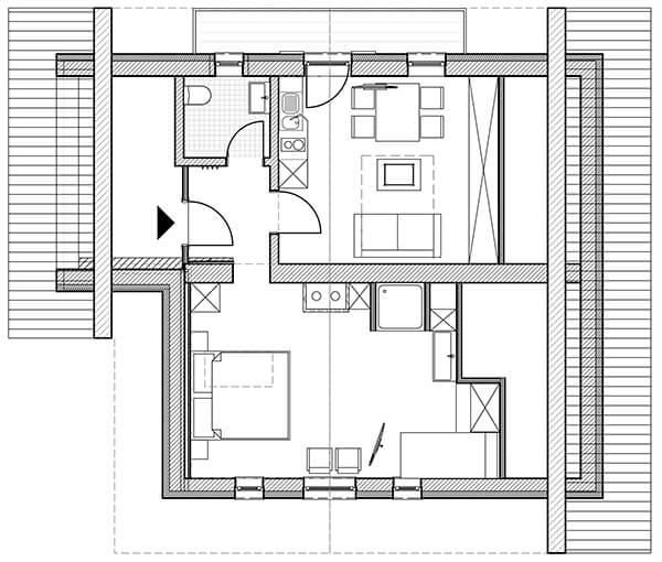 Haus Topa - Appartement Valkastiel - Ferienwohnung Montafon