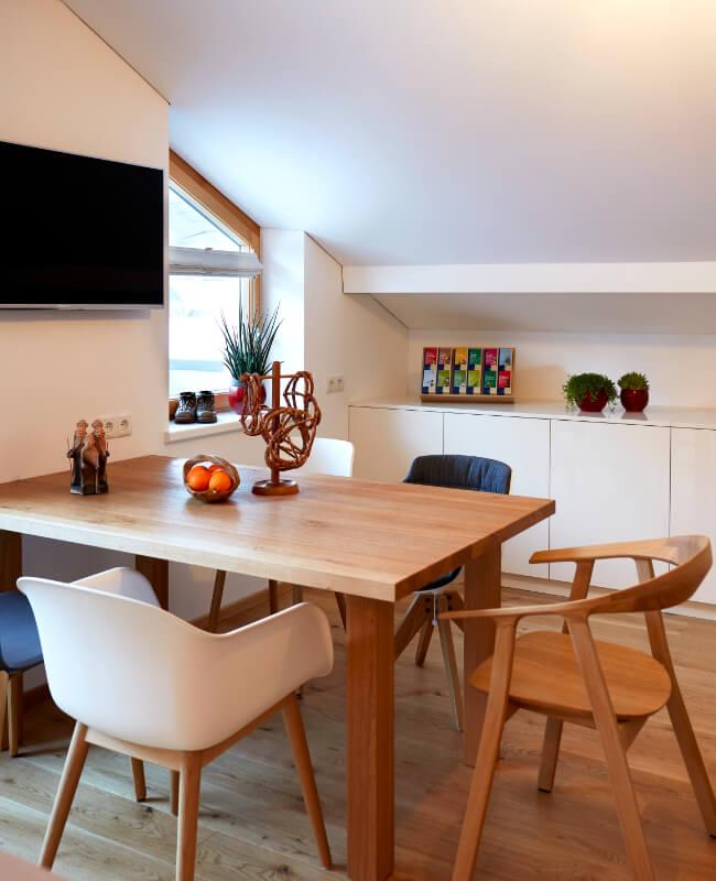 Haus Topa Vandans Montafon - Appartement Rosskopf - Küche - Ferienwohnung Montafon